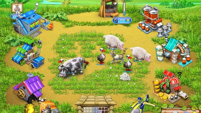 Farm Frenzy 3: Russian Village Screenshot 2