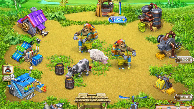 Farm Frenzy 3: Russian Village Screenshot 3
