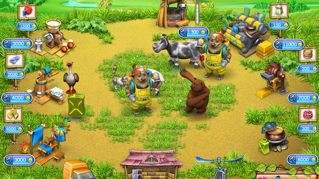 Farm Frenzy 3: Russian Village Screenshot 4