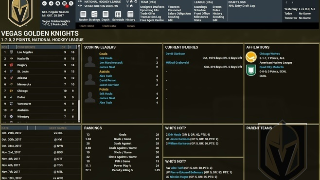 Franchise Hockey Manager 4 Screenshot 6