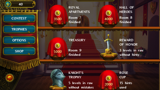 Fill and Cross Royal Riddles Screenshot 4