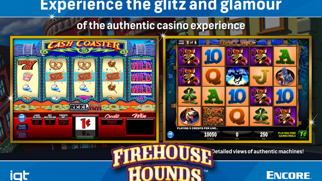 IGT Slots Firehouse Hounds 8-Pack Screenshot 2