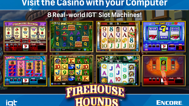 IGT Slots Firehouse Hounds 8-Pack Screenshot 3