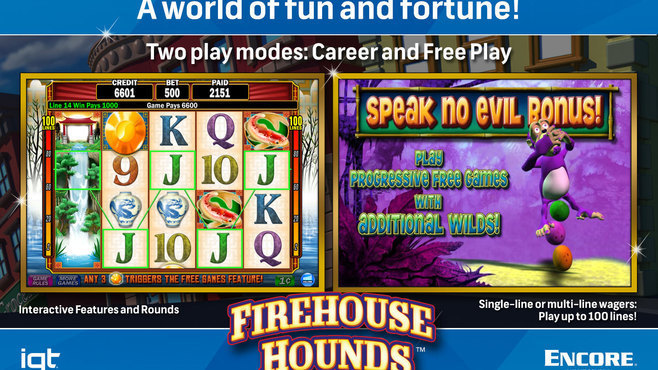 IGT Slots Firehouse Hounds 8-Pack Screenshot 4