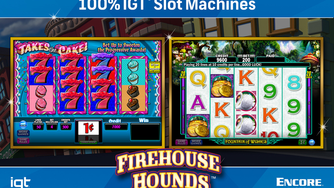 IGT Slots Firehouse Hounds 8-Pack Screenshot 5