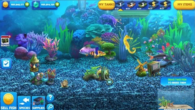 Fish Tycoon 2 Screenshot 1