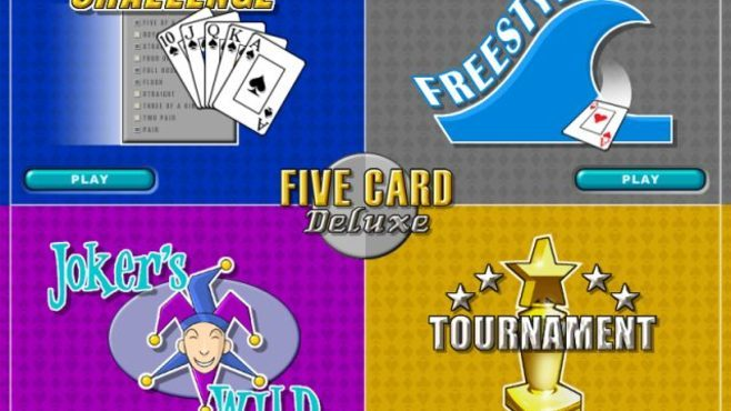 Five Card Deluxe Screenshot 1