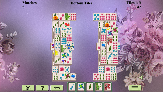 Flowers Mahjong Screenshot 1
