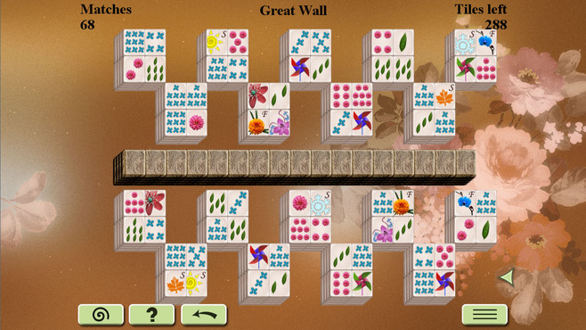 Flowers Mahjong Screenshot 2
