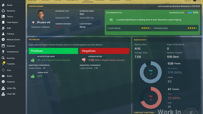 Football Manager 2018 Screenshot 6