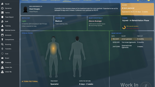 Football Manager 2018 Screenshot 9