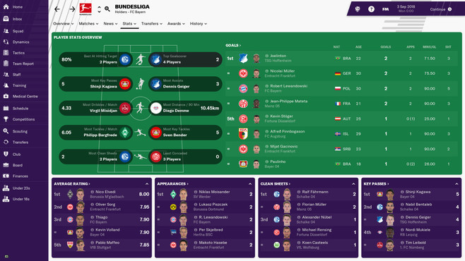 Football Manager 2019 Screenshot 1