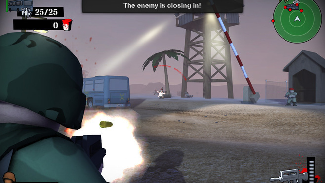 Foreign Legion : Buckets of Blood Screenshot 3