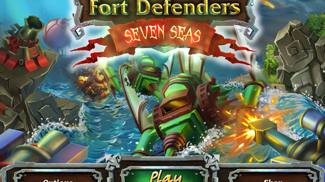Fort Defenders Seven Seas Screenshot 1