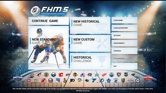 Franchise Hockey Manager 5 Screenshot 1