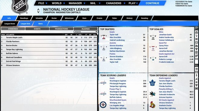 Franchise Hockey Manager 5 Screenshot 4