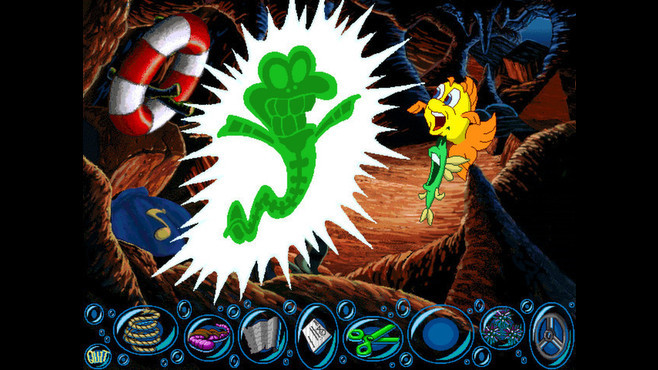 Freddi Fish 2: The Case of the Haunted Schoolhouse Screenshot 7