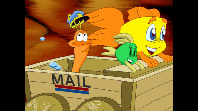 Freddi Fish 4: The Case of the Hogfish Rustlers of Briny Gulch Screenshot 1