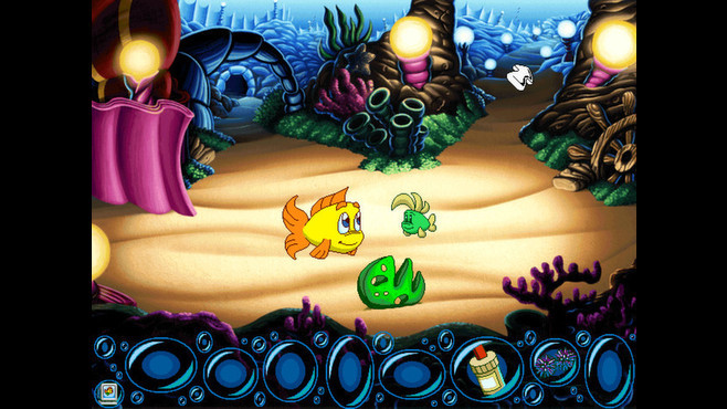 Freddi Fish 5: The Case of the Creature of Coral Cove Screenshot 4