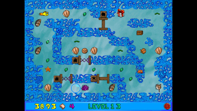 Freddi Fish and Luther's Maze Madness Screenshot 2