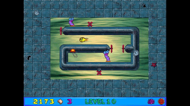 Freddi Fish and Luther's Maze Madness Screenshot 3