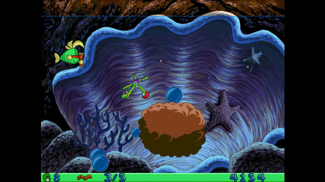 Freddi Fish and Luther's Water Worries Screenshot 3