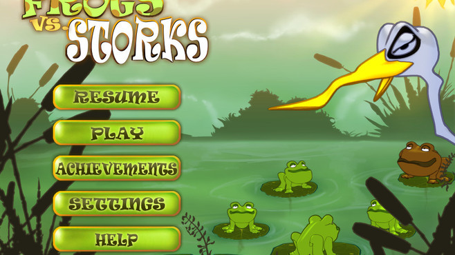 Frogs vs. Storks Screenshot 4