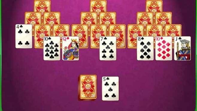 GameHouse Solitaire Challenge Screenshot 1