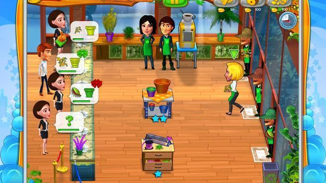 Garden Shop - Rush Hour! Screenshot 1