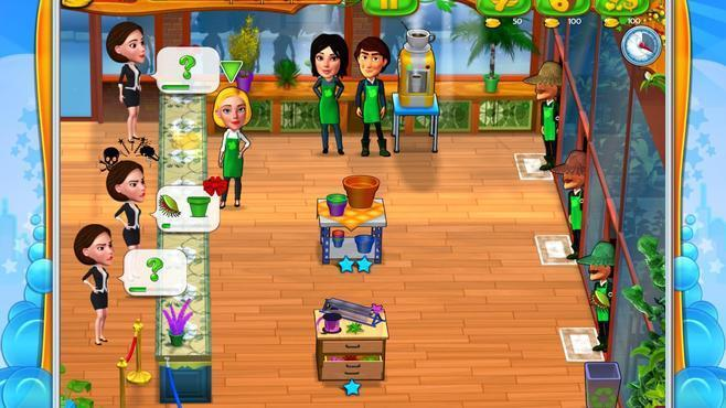 Garden Shop - Rush Hour! Screenshot 2