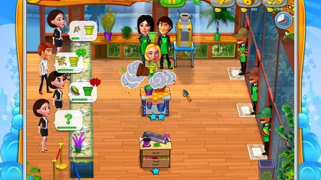 Garden Shop - Rush Hour! Screenshot 3