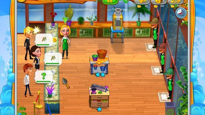 Garden Shop - Rush Hour! Screenshot 4
