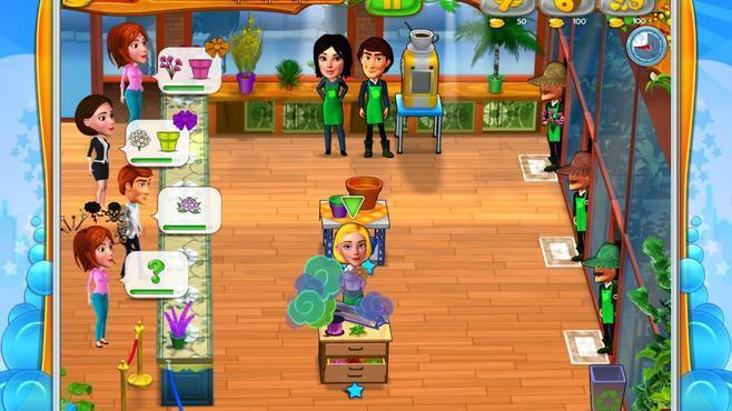 Garden Shop - Rush Hour! Screenshot 5