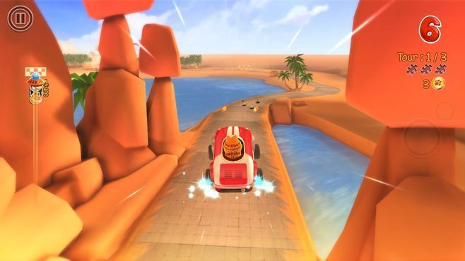 Garfield Kart Screenshot 4