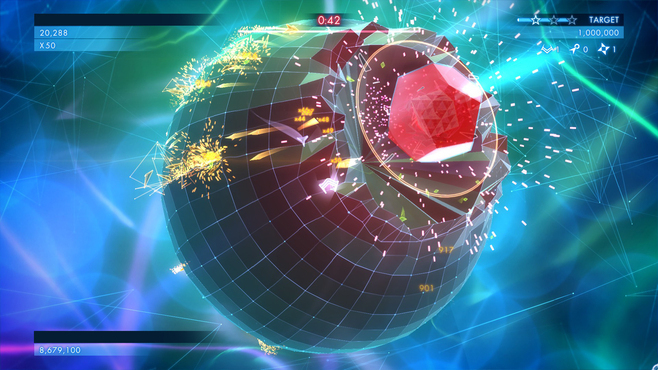 Geometry Wars 3: Dimensions Screenshot 2