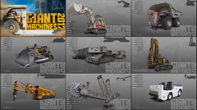 Giant Machines 2017 Screenshot 7