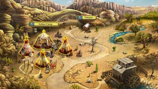 Golden Trails: The New Western Rush Screenshot 1