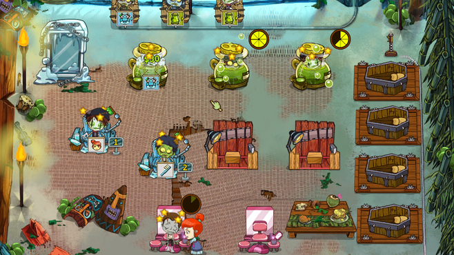 Grave Mania: Pandemic Pandemonium Screenshot 1