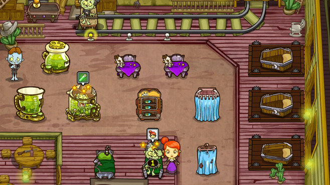 Grave Mania: Undead Fever Screenshot 2