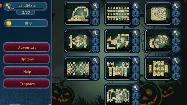 Halloween Night 2 Mahjong Screenshot 2