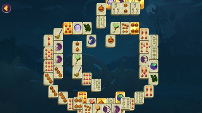Halloween Night Mahjong Screenshot 7