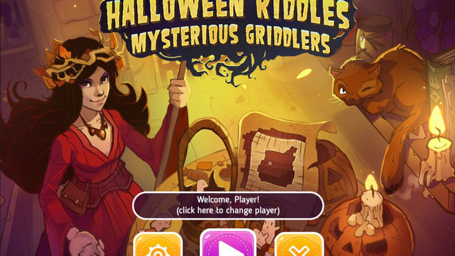 Halloween Riddles Mysterious Griddlers Screenshot 1