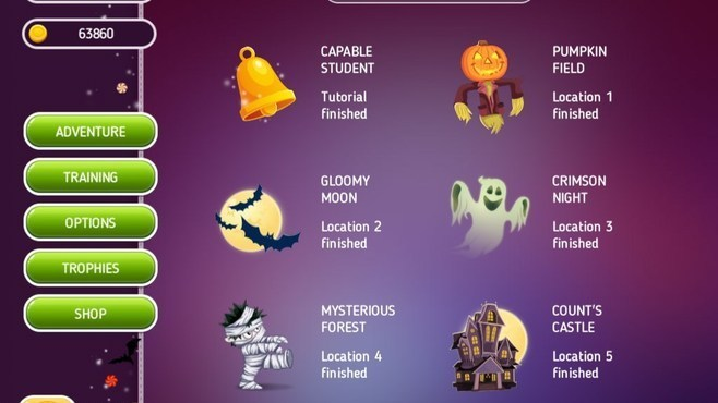 Halloween Riddles Mysterious Griddlers Screenshot 5