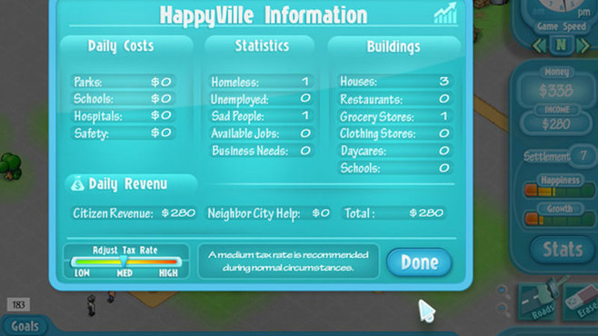 Happyville: Quest for Utopia Screenshot 6