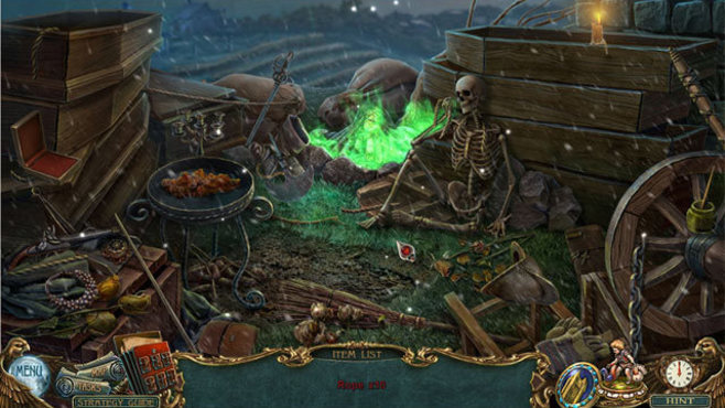 Haunted Legends: The Black Hawk Collector's Edition Screenshot 3