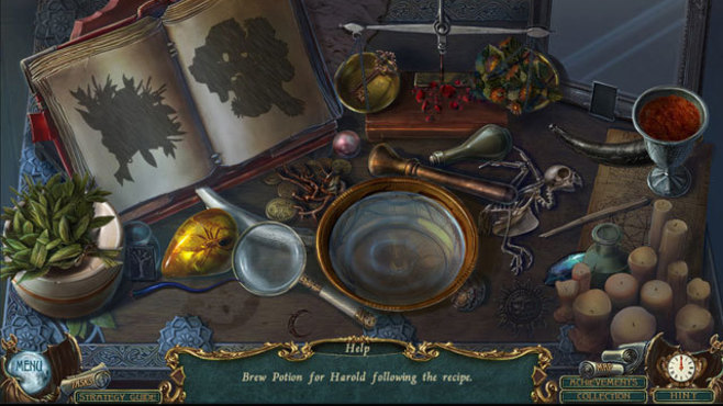 Haunted Legends: The Cursed Gift Collector's Edition Screenshot 4