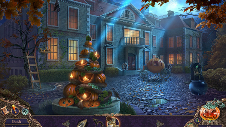 Haunted Manor: Halloween's Uninvited Guest Collector's Edition Screenshot 1