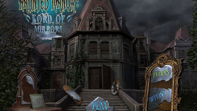 Haunted Manor: Lord of Mirrors Collector's Edition Screenshot 1