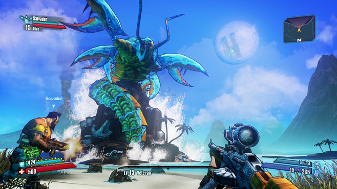 Borderlands 2: Sir Hammerlock vs. the Son of Crawmerax Screenshot 3