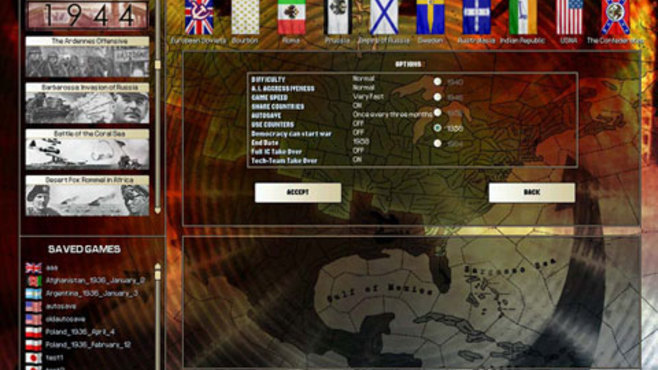 Hearts of Iron 2 Complete Screenshot 1